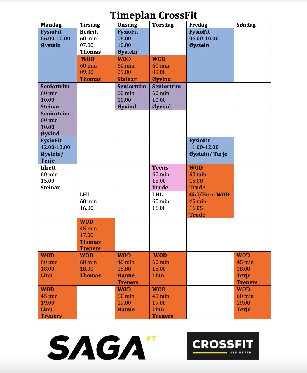 timeplan_høst
